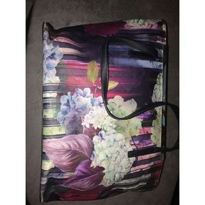 Ted Baker London Bags - Ted Baker Floral Tote Bag
